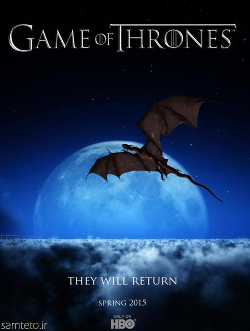 پوستر فصل پنج game of thrones,بازی تاج و تخت,عکس بازیگران game of thrones