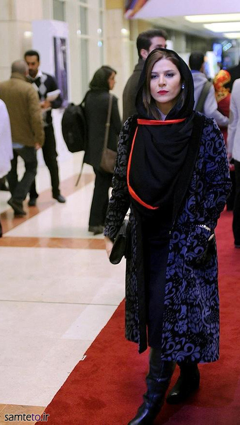 سحر دولتشاهی,عکس جدید سحر دولتشاهی,سحر دولتشاهی جشنواره فجر 93