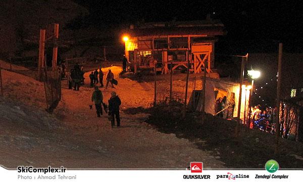 افتتاح شبانه پیست اسکی شمشک,پیست شب شمشک